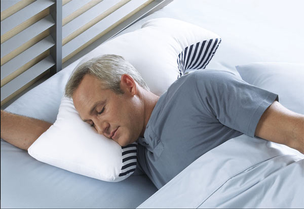 The Sona Pillow will help you sleep without snoring
