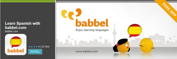 Babbel – learn a language for free using your phone [Freeware]