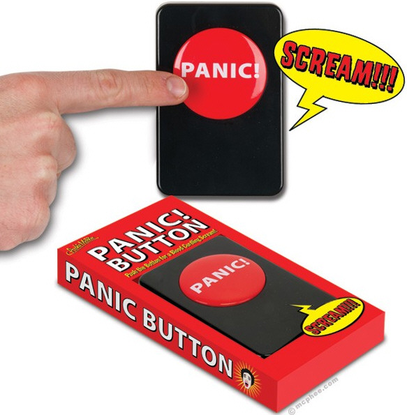 Panic Button – when things get overwhelming, just press the button