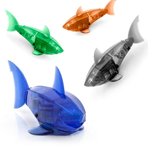 Who wants a goldfish when you can have an Aquabot?