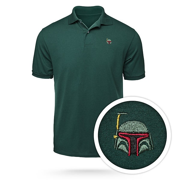 Star Wars Helmet Polos – Boba Fett never looked so professional