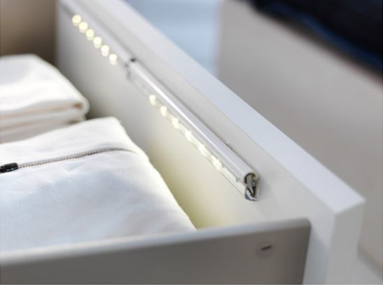 Don't let the junk drawer eat your stuff, use the Dioder LED Drawer Lamp