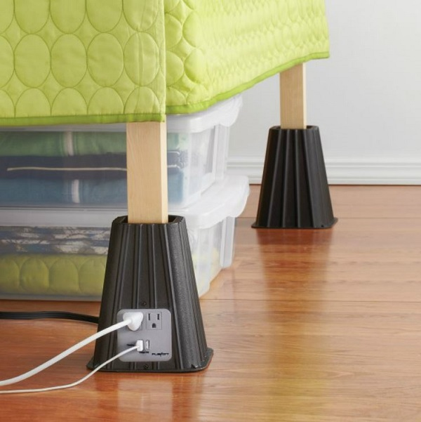 Power Bed Riser – Rise and Charge!