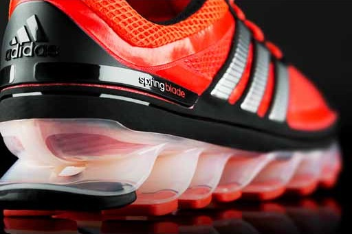 Put some pep in your step with the Adidas Springblade