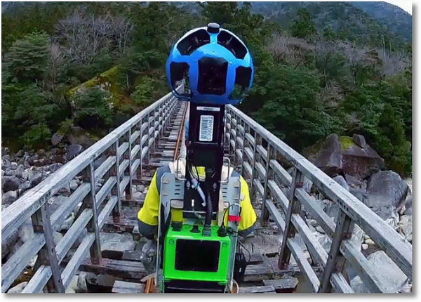 googletrekker2 Google Street View Trekker Projects   fancy exploring the world with a borrowed camera on your back?