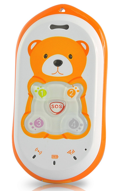 SOS Mobile Phone with GPS Tracker – keep tabs on your loved ones while giving them some space and a teddy bear