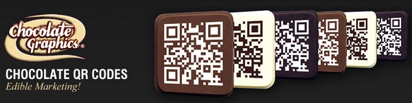 QR Chocolates – butter them up with your sweet marketing message