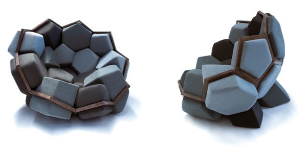 Quartz Armchair – between a rock and a comfy place