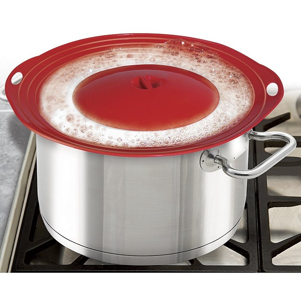 Boil Over Safeguard will save your stove top from a big mess