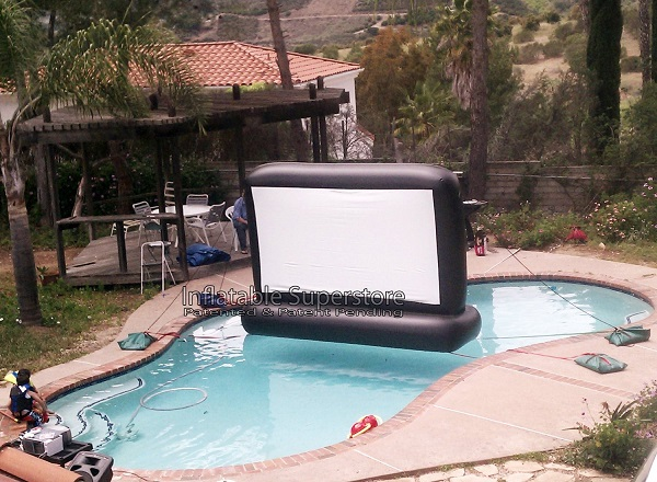 Aquascreen brings the action to your pool