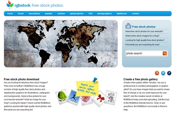 RGBStock – free stock photos for private and commercial use [Freeware]