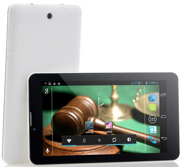 7 Inch Dual Core Dual SIM 3G Android Tablet at $120 makes your phone look rather expensive, doesn't it?