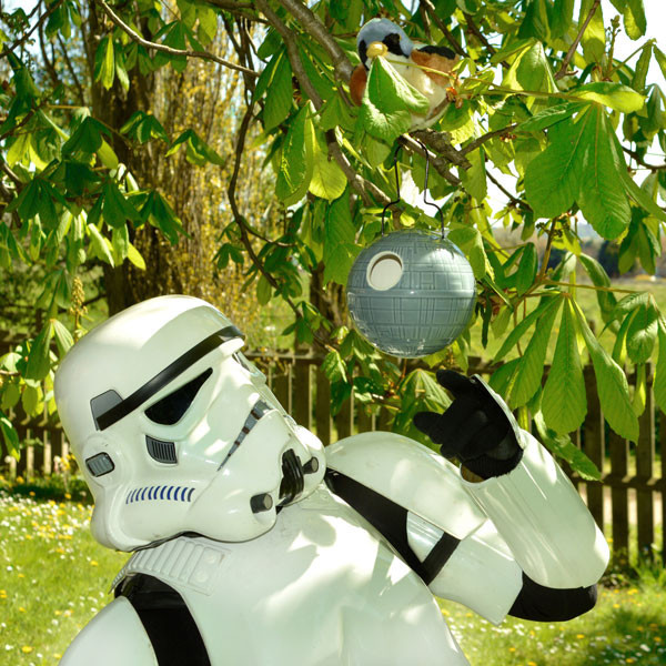 Death Star Birdhouse – the force is strong with this one… very strong