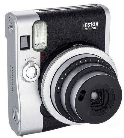 Fujifilm Instax Mini 90 Neo Classic Instant Camera – retro style lets you instantly re-live those memories as they happen