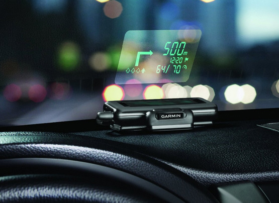 Garmin HUD gives your car GPS some cool cockpit style