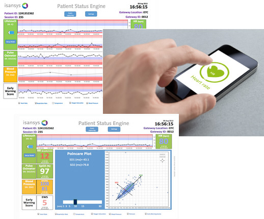 Patient Status Engine – continuous wireless patient monitoring arrives…and so the 22nd century begins
