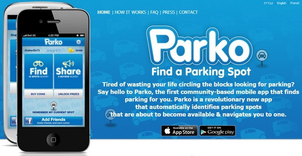 Parko – join this community parking club on your phone and banish parking headaches