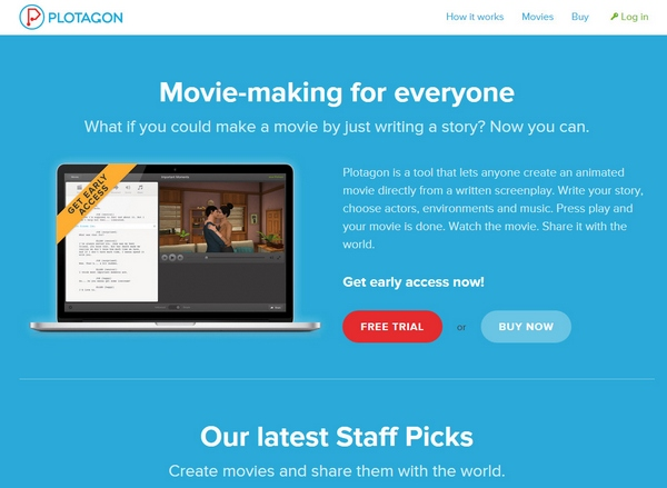 Plotagon – write a story, make a movie and have more fun than you can imagine
