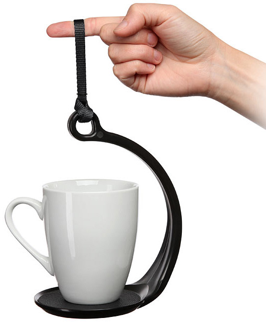 SpillNot No-Spill Mug Holder – help your beverage survive your longest treks