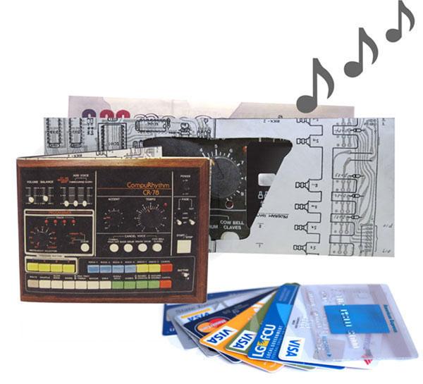 Sound Effect Drum Machine Wallet – spending money to the beat of that drum