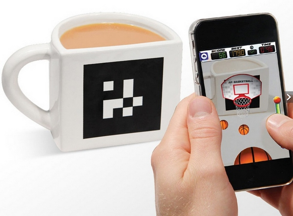 AR Basketball App Mug – transforms your boring coffee breaks into awesomeness