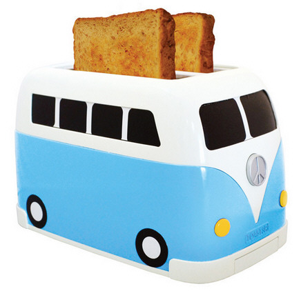 Camper Van Toaster – it's hard not to love something so shiny and crunchy