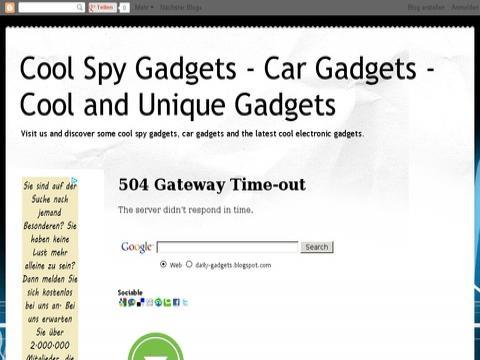 Cool, Car &  Computer Gadgets