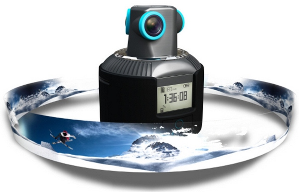 Geonaute 360 Video Camera – this ultra cool cam captures all the action from every direction, even up…
