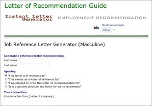 letterofrecommendationgen