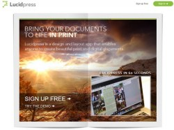 LucidPress – superb new free collaborative web based layout and design application does it all