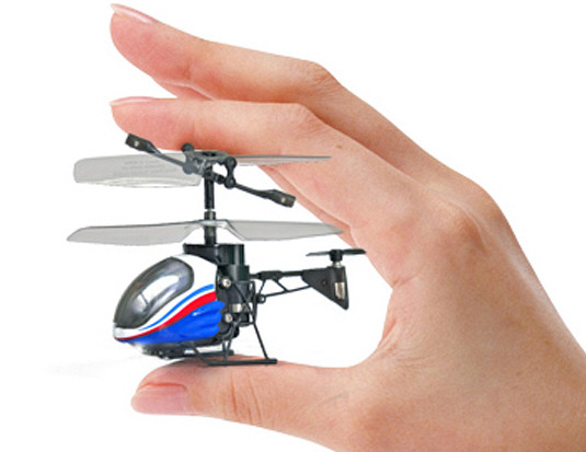 Nano Falcon – the world's smallest IRC helicopter breaks record, then gets lost