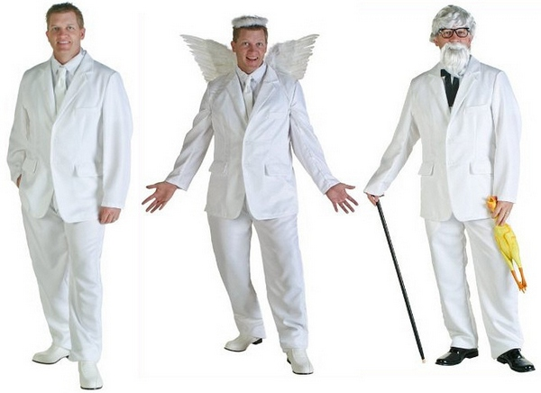 White Suit Costume – versatile, useful and oh so heavenly