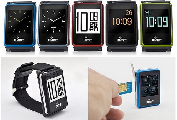 WIME Nano Smart Phone Watch – tiny phone, big watch, trendy tool