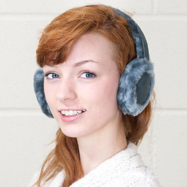 Bluetooth Earmuffs – because earbuds won't protect against frostbite