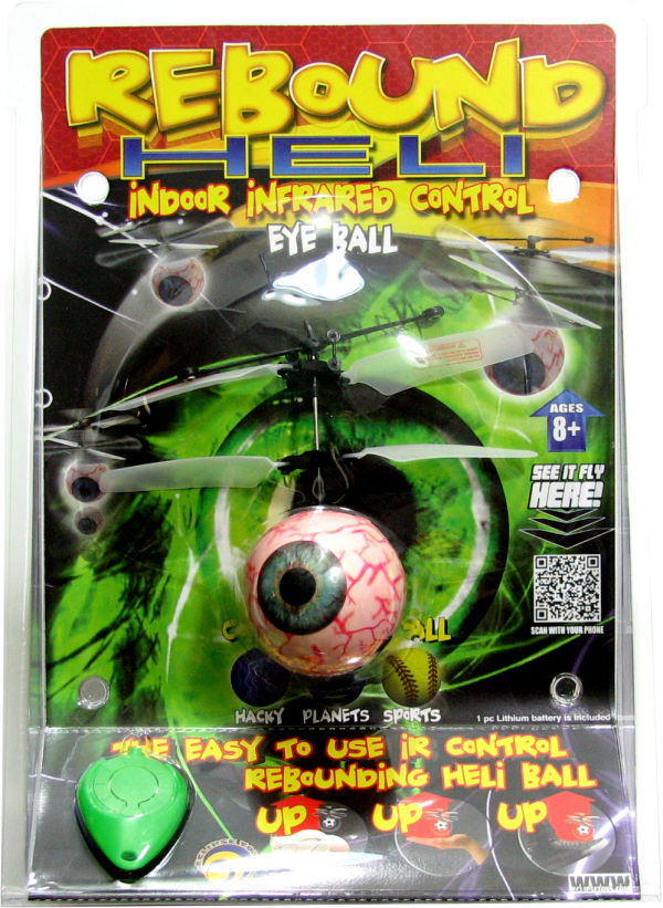Rebound Eyeball Helicopter – Your bouncing eye in the sky