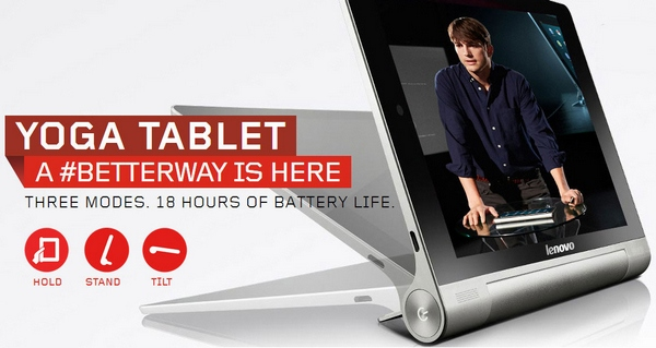 Lenovo Yoga Tablet 10 – we test the groundbreaking 18 hour tablet and stand impressed [Video Review]