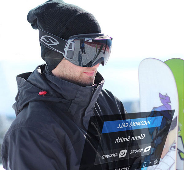 Recon Snow2 Goggle - the Google Glass for Snowboarders