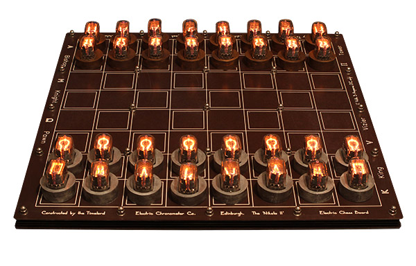 DIY Nixie Tube Chess Set – A bright idea for a classic game