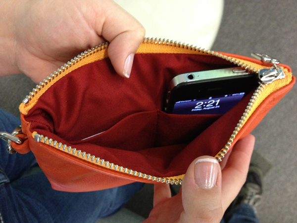 Everpurse – Your phone goes in your purse anyway so why not charge it while it's there