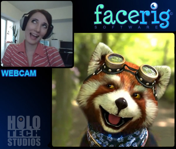 FaceRig – Who do you want to be when you chat?