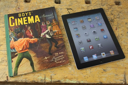 How to make an iPad cover from an old book Step 1