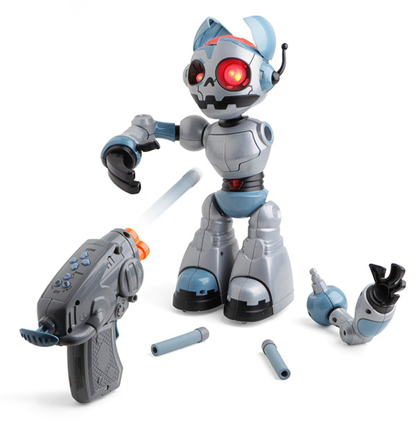 Robot Zombie R/C – One toy prepares you for two apocalypses