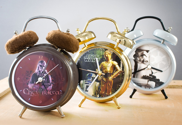 Star Wars Talking Alarm Clocks – Start your day like a Jedi
