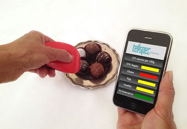 TellSpec Food Scanner – Never be surprised by what's in your food again