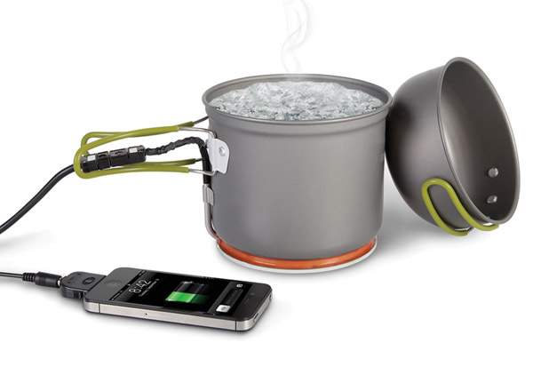 Thermodynamic Cell Phone Charger – A low-tech way to keep your hi-tech phone alive