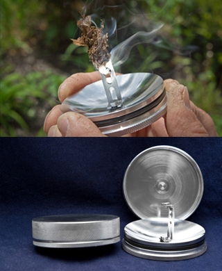 Tinder Hot Box Solar Fire Starter – Say bye bye to rubbing wood together for hours