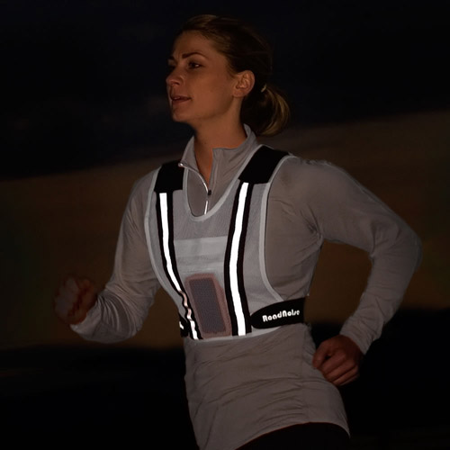 Runners Speaker Vest Glow-in-the-Dark