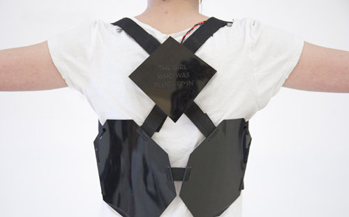 Wearable Book Harness