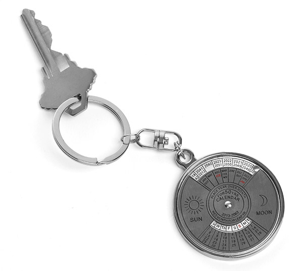 50-Year Calendar Keyring – Become the go-to person for knowing things nobody really needs to know
