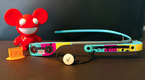Google Glass Skins – You're so pretty.